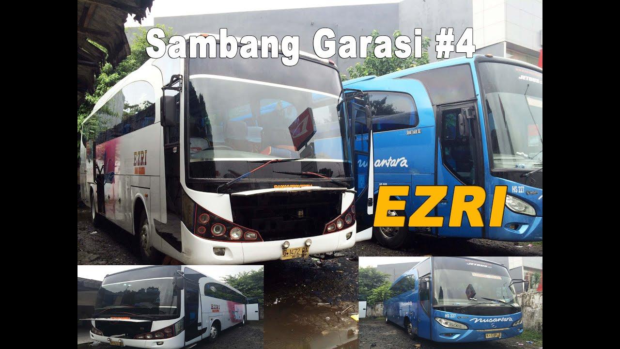 Bus Garage Visit 4 Ezri Malang Bus Indonesian Bus