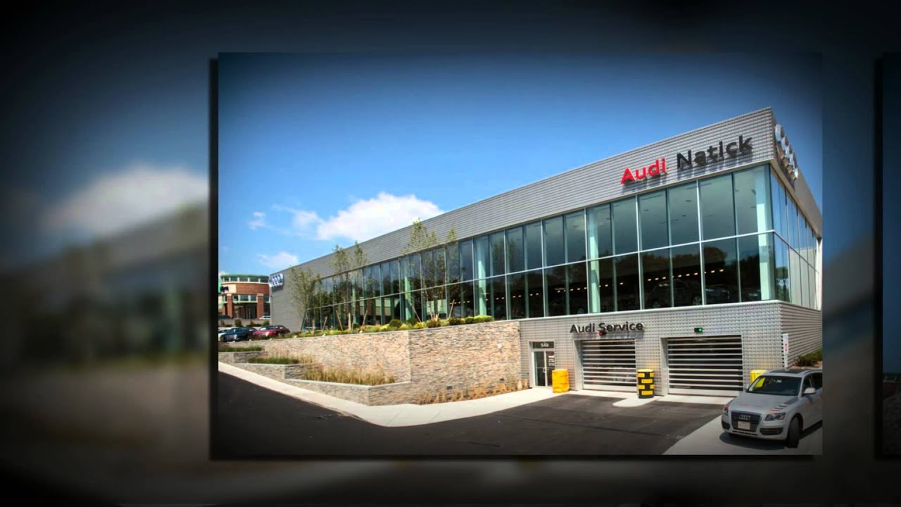Contemporary New Audi Dealership Features New England