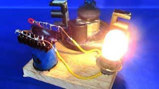How to make free energy with 220v generator in Magnets - Homemade DIY 2018