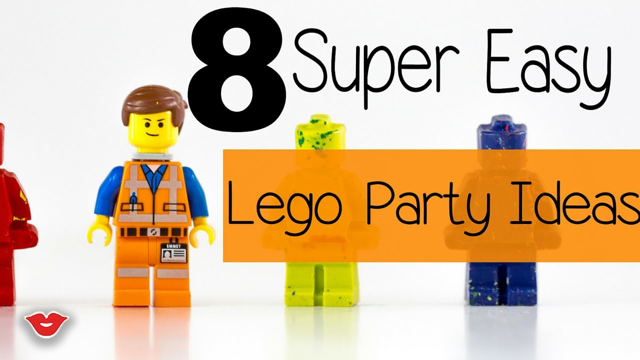 8 super easy diy lego party ideas alison from millennial moms 8 super easy diy lego party ideas alison from millennial moms youtube solutioingenieria Choice Image