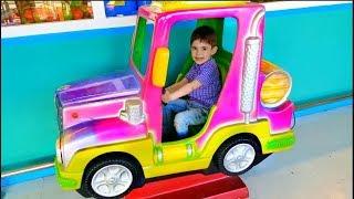 Alex Ride on Car Having Fun-Power Wheels Kids Song