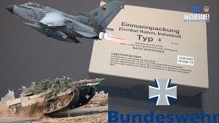 ИРП БУНДЕСВЕРА АРМИЯ ГЕРМАНИЯ меню 4 EPA Einmannpackung NATO Typ 4