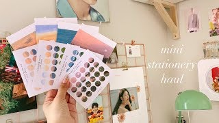 stationery haul ⛅️ ~ inthemood.for