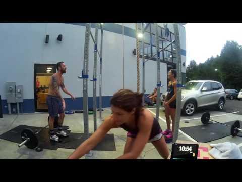 CrossFit Games Team Series 2016 WOD1