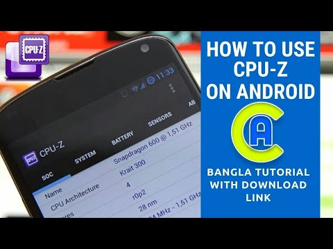 how to use cpu z app