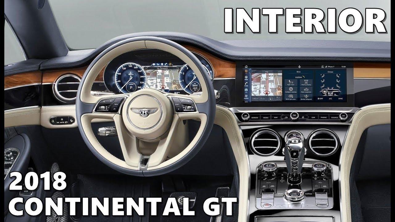 2018 bentley continental gt interior. modren bentley bentley continental gt 2018 interior highlights in 2018 bentley continental gt interior i