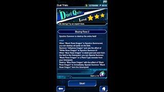 Yugioh Duel Links - Duel Quiz Level 3 : Blazing Rose 2