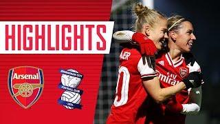 JORDAN NOBBS WITH A WORLDIE! | Arsenal Women 2-0 Birmingham City | WSL Highlights