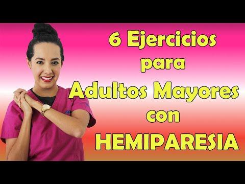 6 Ejercicios para adultos mayores con HEMIPARESIA (EVC) | Fisioterapia en Querétaro