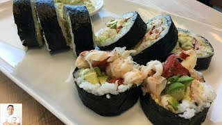 GRAPHIC: LIVE Maine Lobster Sushi Roll
