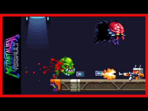 SUPER MUTANT ALIEN ASSAULT very arcadey shooter | Discover Indie Games |