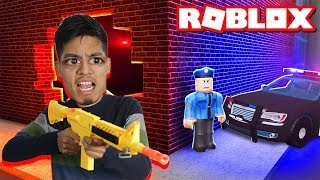 PLAYING ROBLOX JAILBREAK WITH SUBSCRIBERS LIVE! ROBLOX GOD BREAKS OUT OF JAIL!