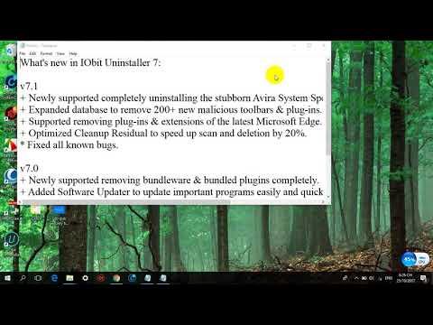 iobit uninstaller 7.1 license code