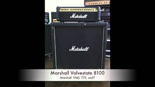 Death, Chuck Schuldiner Type of Tone. Marshall Valvestate 8100