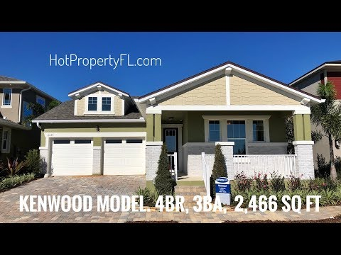 New Home Winter Garden, FL | 4 br | 3ba | 2,466 sq ft.