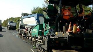 Как идет ремонт трассы Одесса - Рени?