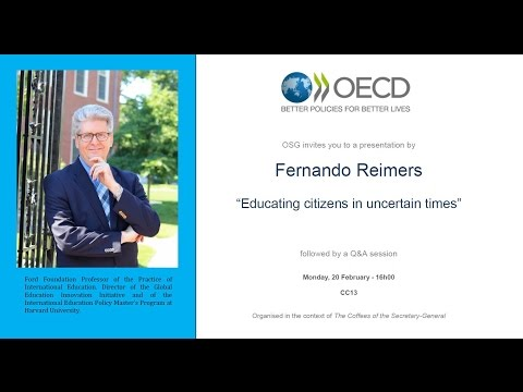 OECD: The Coffees of the Secretary-General with Fernando Reimers