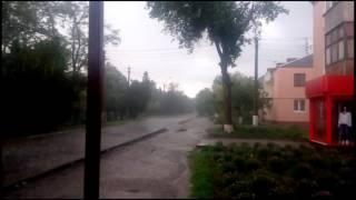 Сегодняшний дождь в Апостолово 10 05 2016