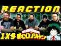 "My Hero Academia [English Dub] 1x9 REACTION!! ""Yeah, Just Do Your Best, Iida!"""