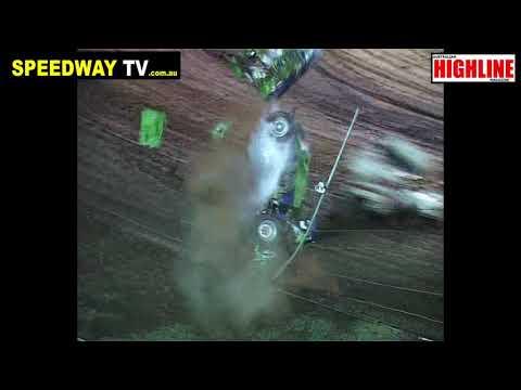 Sean kypers crash at Rolling Thunder Raceway