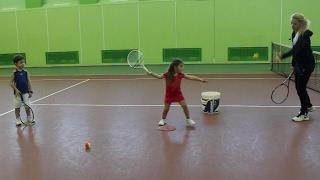 Большой теннис. Выбираем ракетку. Видеоурок.