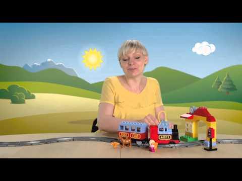 Конструктор Lego Duplo 10507 Лего Дупло Мой первый поезд