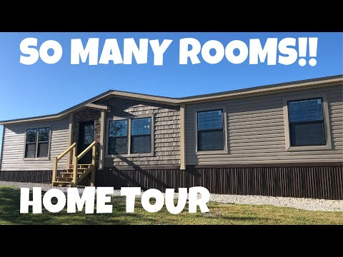 WOW FACTOR AS SOON AS YOU WALK IN! Mobile Home By Buccaneer Homes | Home Tour