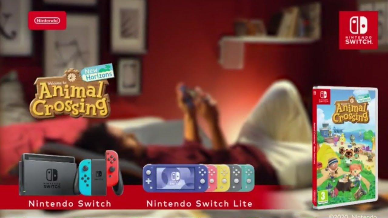 """Musique de la pub Animal Crossing New Horizons Nintendo Switch """"à quoi ressemble votre animal Crossing ?""""  2021"""