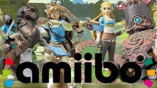 QUE DÉBLOQUENT LES AMIIBOS ? ZELDA BREATH OF THE WILD