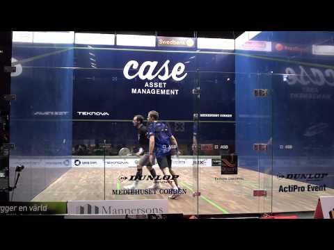 PSA Case Swedish Open Final 2013 Nick Matthew vs. Gregory Gaultier Part 3/4