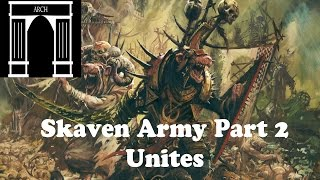 Possible Total War:Warhammer Factions Skaven Army Unites