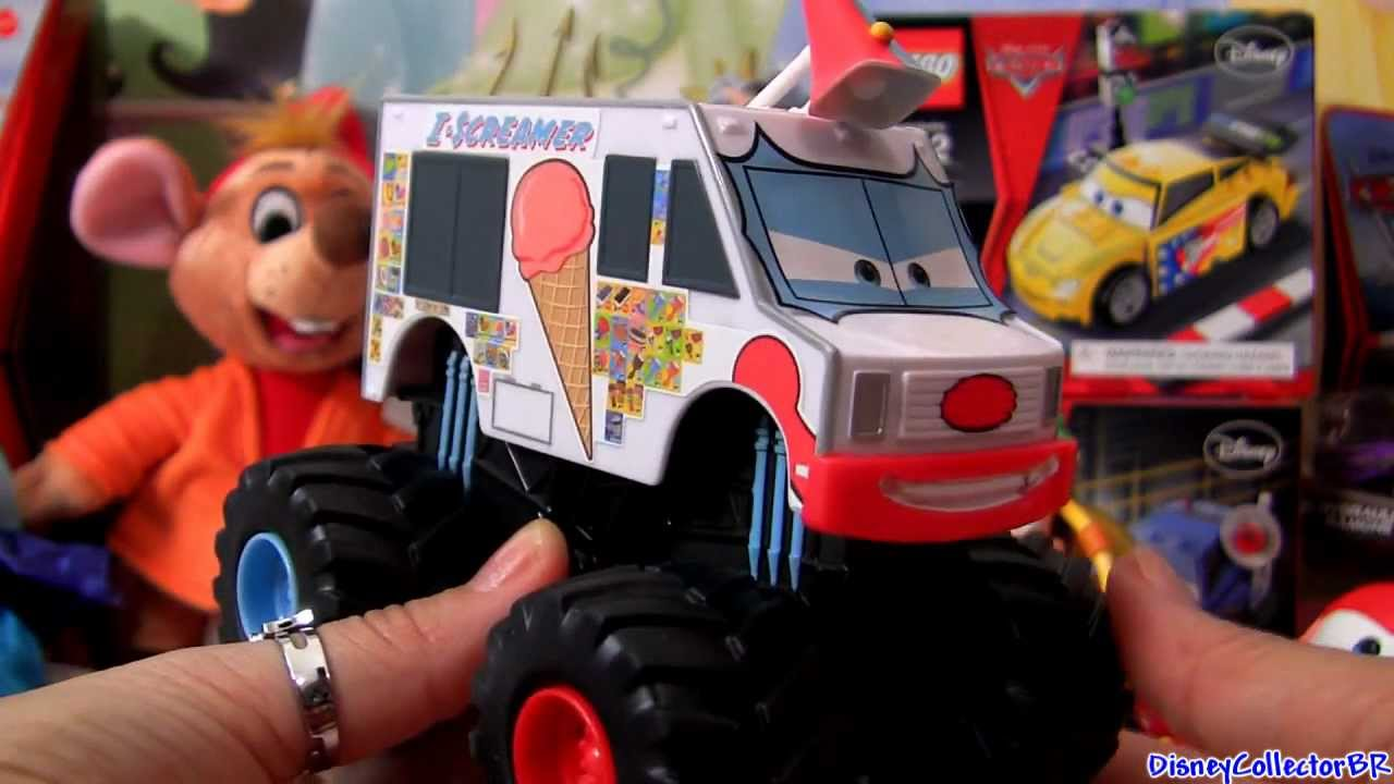 Cars Toon I Screamer Diecast Disney Pixar Mattel Mater S