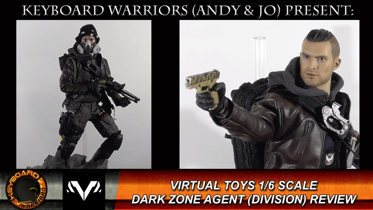 VTS 1/6 Scale Darkzone Agent Review (Division Figure ...