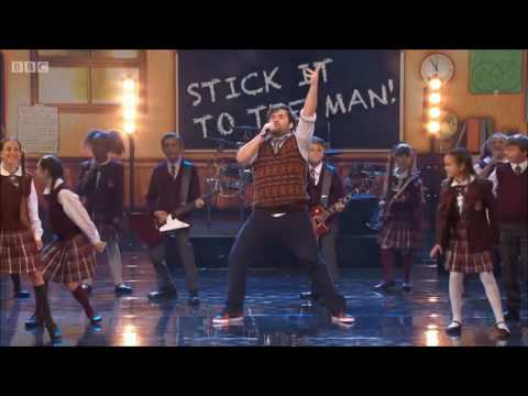 School of Rock the Musical UK performance on Michael McIntyre's Big Show