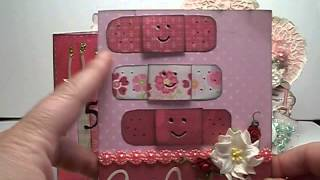 Get well card and Happy Birthday card projects made from scraps inspired by Pinterest