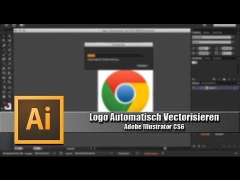Logo Automatisch Vektorisieren-Adobe Illustrator CS6 [German] [HD]