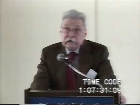 """Narrative Medicine: A Colloquium, James Olney """"Life and the Memory of It"""" 05/02/2003"""