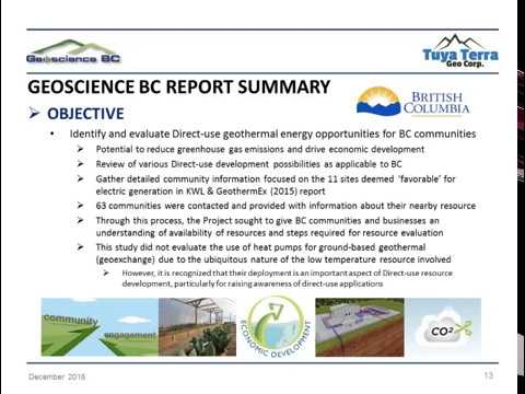 Direct-use Geothermal in BC - Module 1
