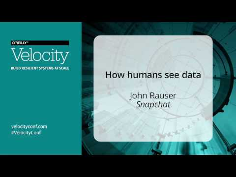 How Humans See Data - John Rauser - Velocity Amsterdam 2016