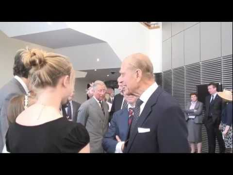 Their Royal Highnesses attend the opening of the National Assembly for Wales