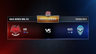 HellRaisers vs NSS TEAM Week 3 Match 5 WGL RU Season I 2015-2016. Gold Series Group  Round