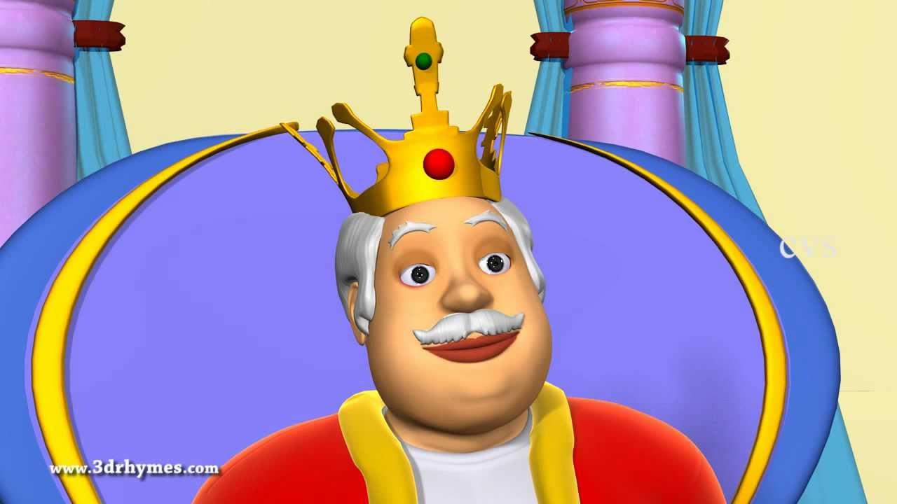 old king cole nurery rhyme