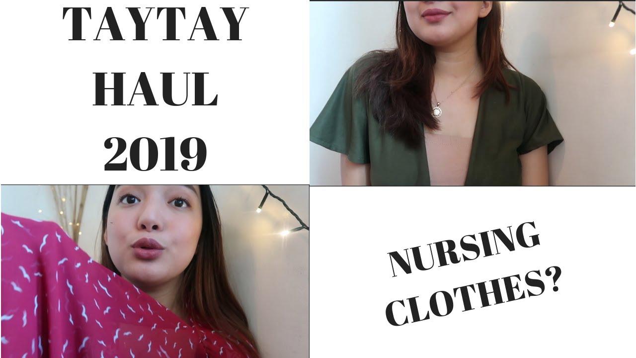 [VIDEO] - TAYTAY HAUL 2019 | Nursing Friendly Dresses / Breastfeeding Mom (PHILIPPINES) 1