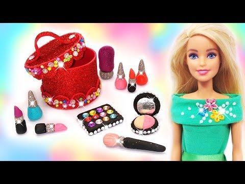 DIY Miniatures Makeup for Barbie Doll