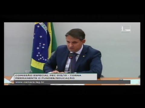 PEC 015/15 - TORNA PERMANENTE O FUNDEB / EDUCAÇÃO - Reunião Deliberativa - 22/05/2018 - 15:02