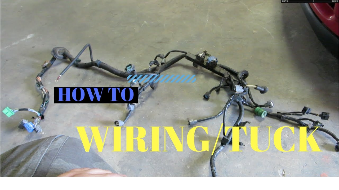 WIRE TUCKING! Wiring 101 sort of... PT1 HSG EP. 4-21 - YouTube on electrical harness, nakamichi harness, pony harness, engine harness, fall protection harness, safety harness, dog harness, pet harness, suspension harness, maxi-seal harness, amp bypass harness, oxygen sensor extension harness, obd0 to obd1 conversion harness, battery harness, alpine stereo harness, radio harness, cable harness,