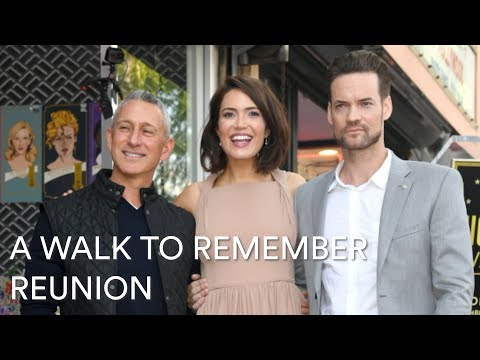 See Mandy Moore And Shane West's Adorable 'A Walk To Remember' Reunion