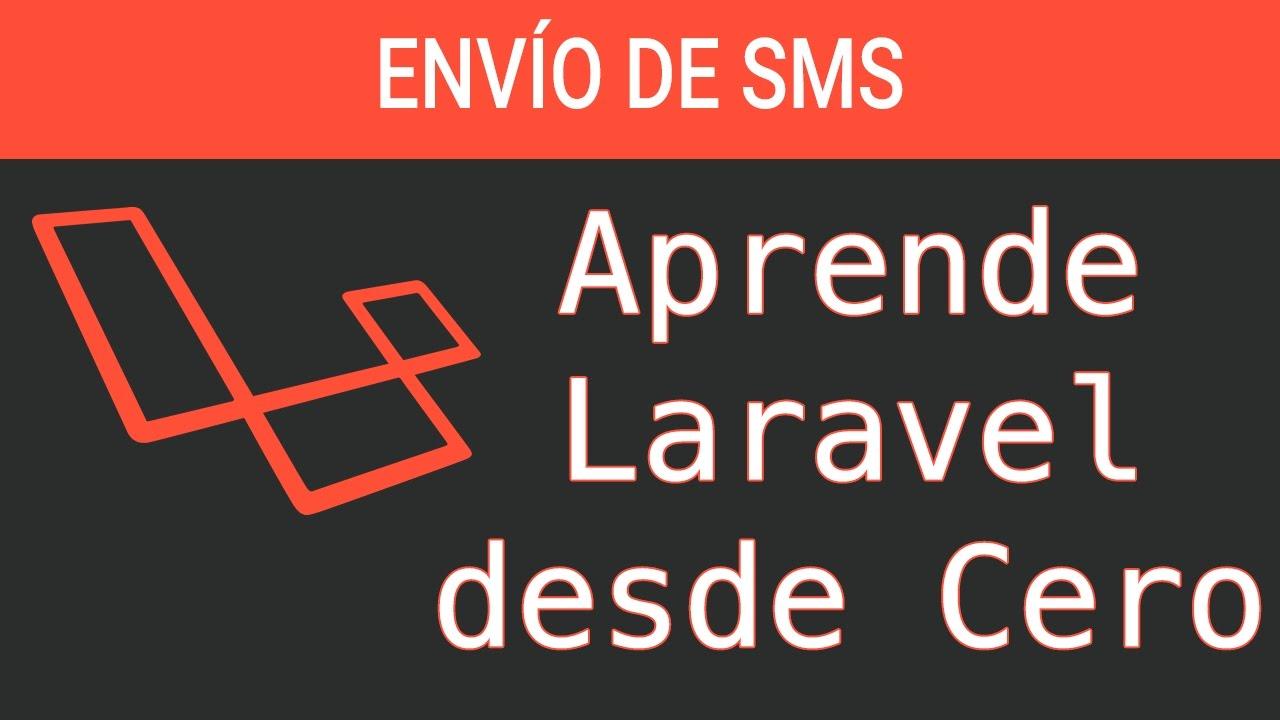 Envío de SMS usando Twilio y Laravel para confirmar teléfono
