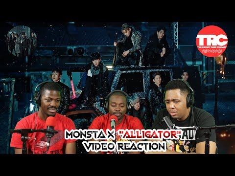 "Monsta X ""Alligator"" Music Video Reaction"