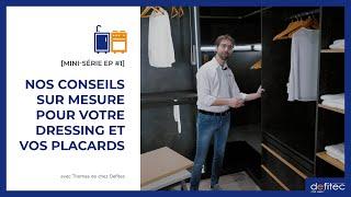 Comment prendre les mesures de son dressing ? - Conseils Placards et Dressing sur mesure EP#1